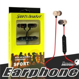 Magnetic Bluetooth Wireless Stereo In-Ear Sports Handfree, Bluetooth Handfree, Handsfree - Discount Offer